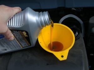 Motoröl mischen